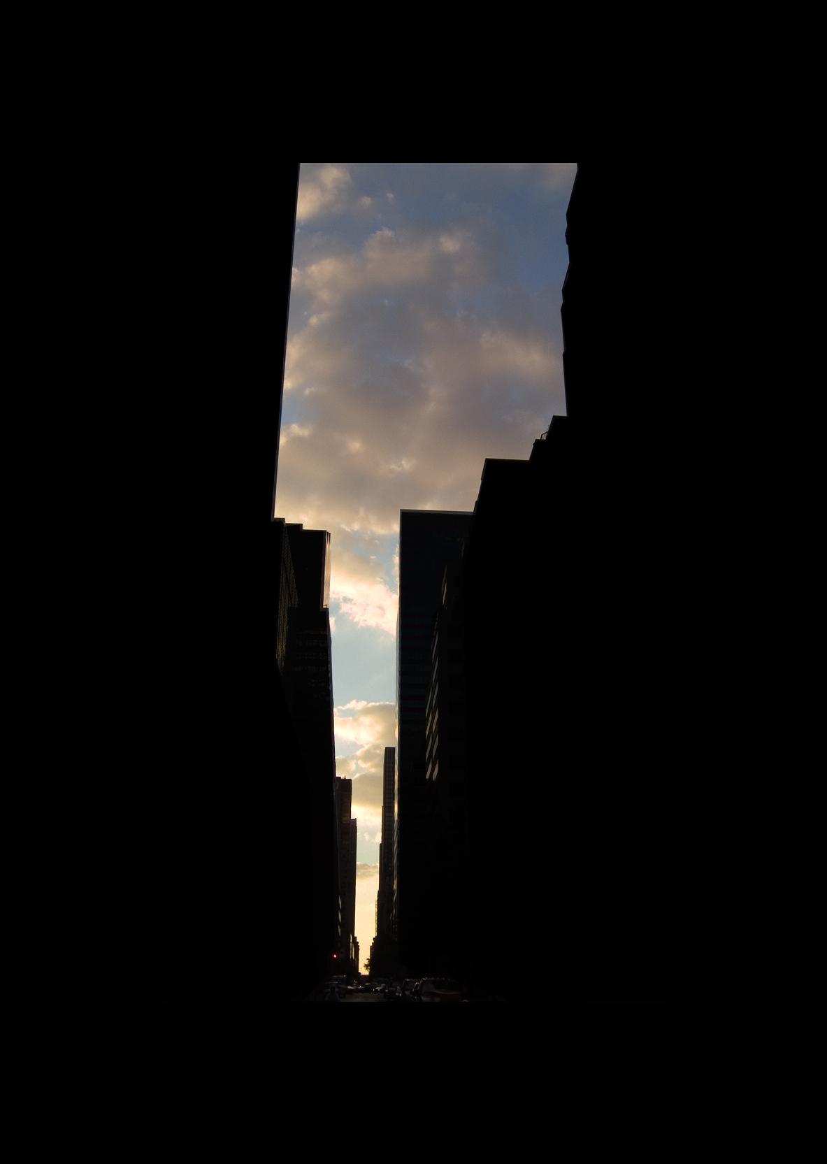 "54thStreet.  , 7 x 5"" 2004"
