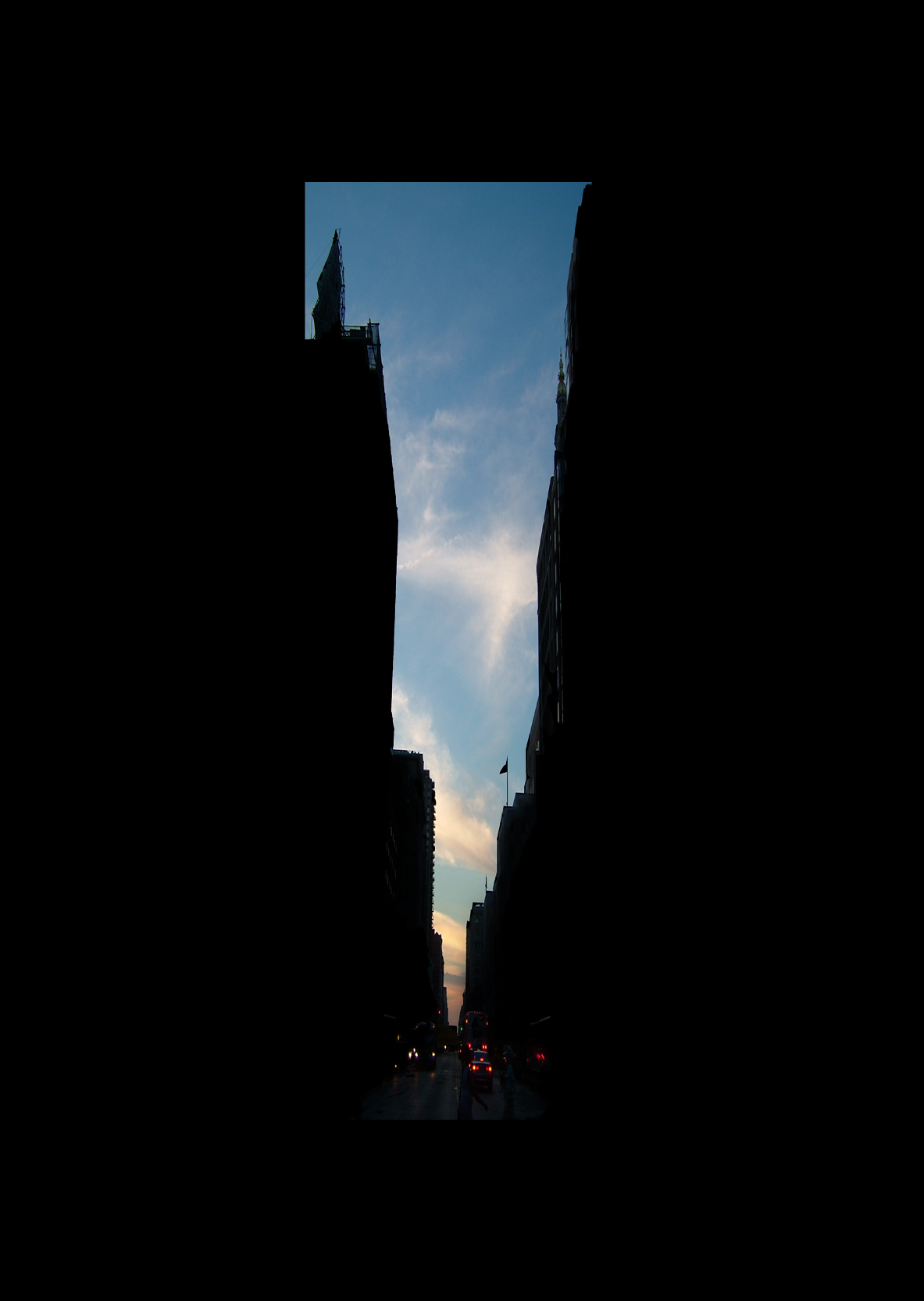 "23rd Street.  , 7 x 5"" 2004"