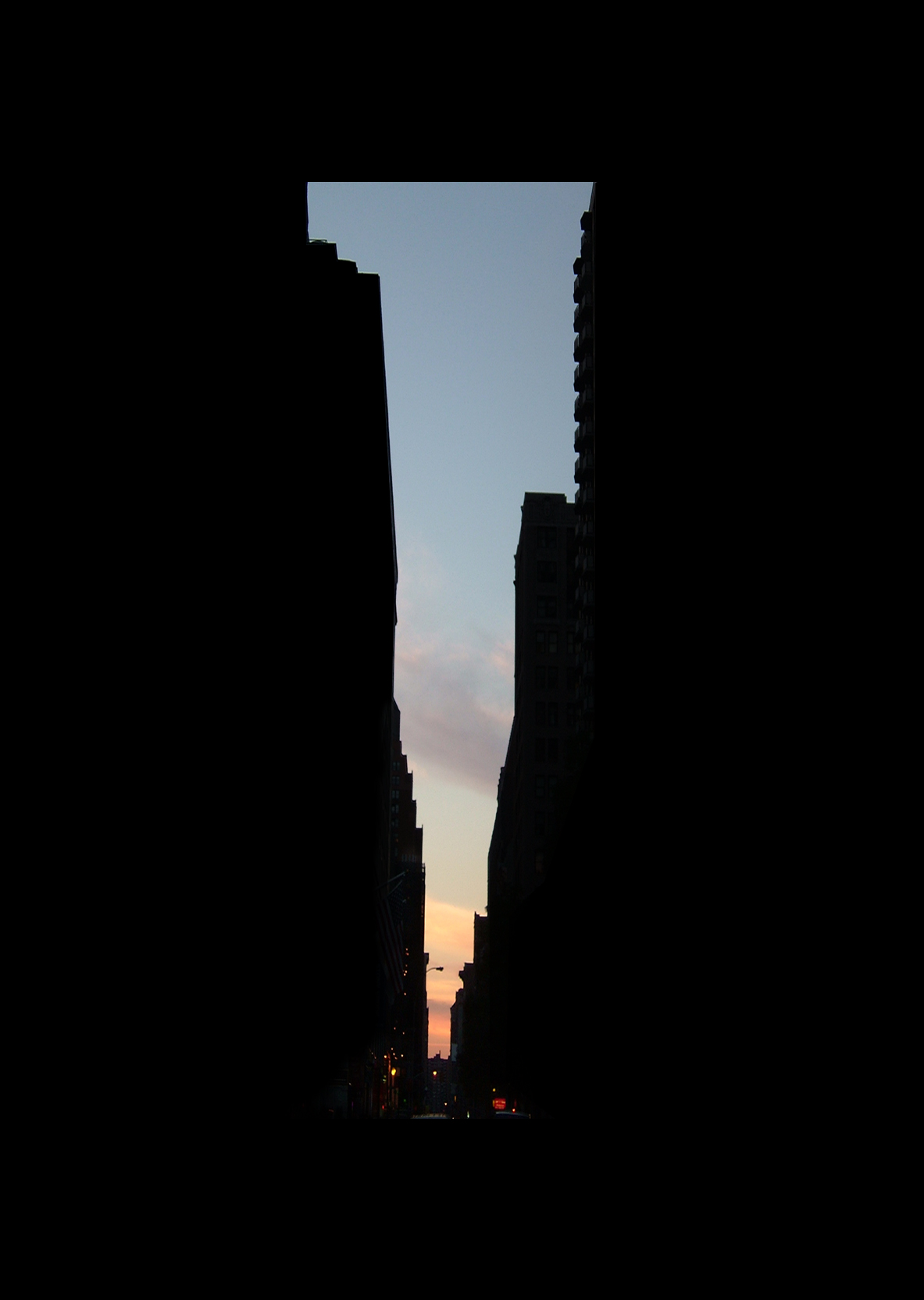 "28thStreet.  , 7 x 5"" 2004"