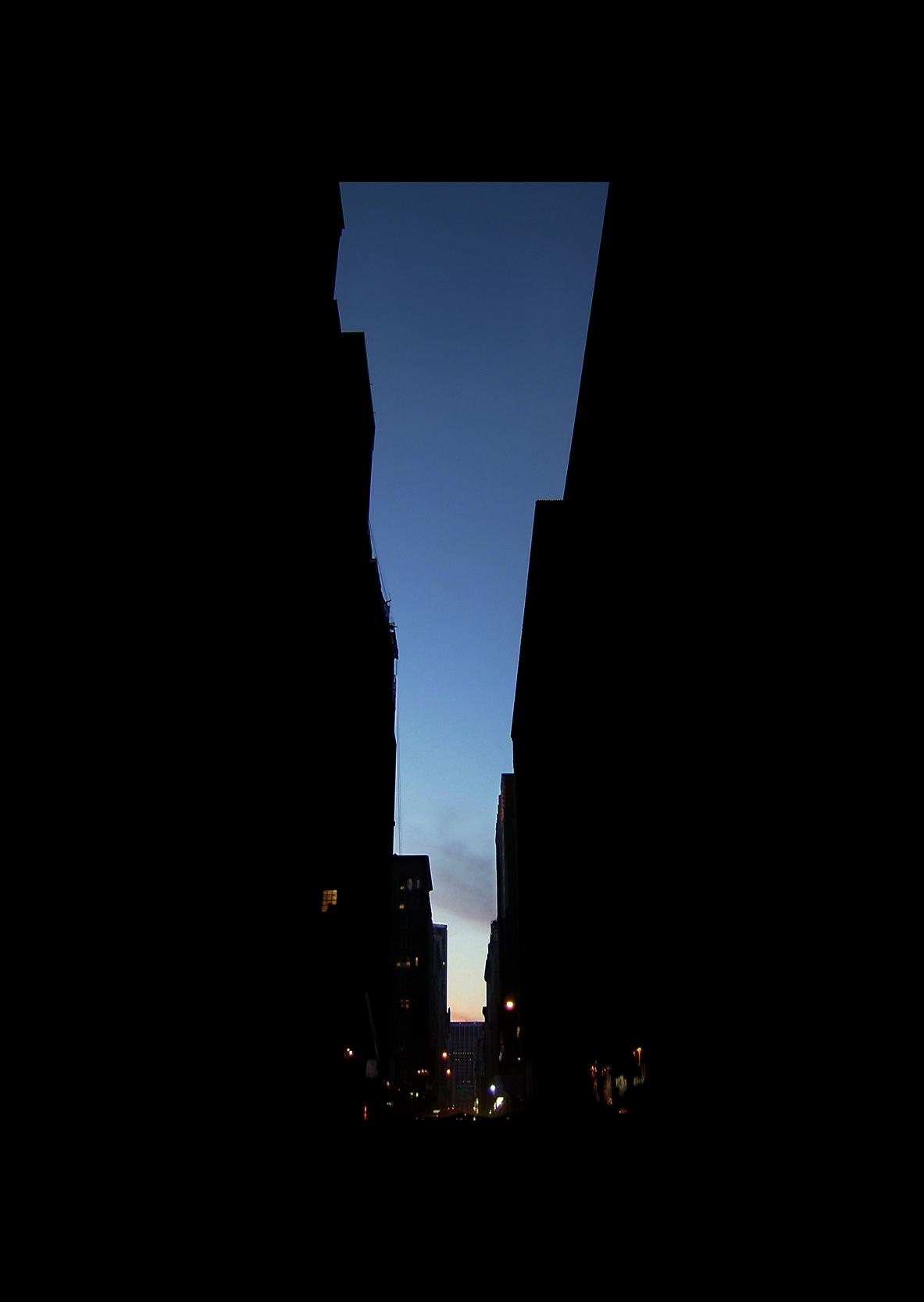 "32nd Street.  , 7 x 5"" 2004"