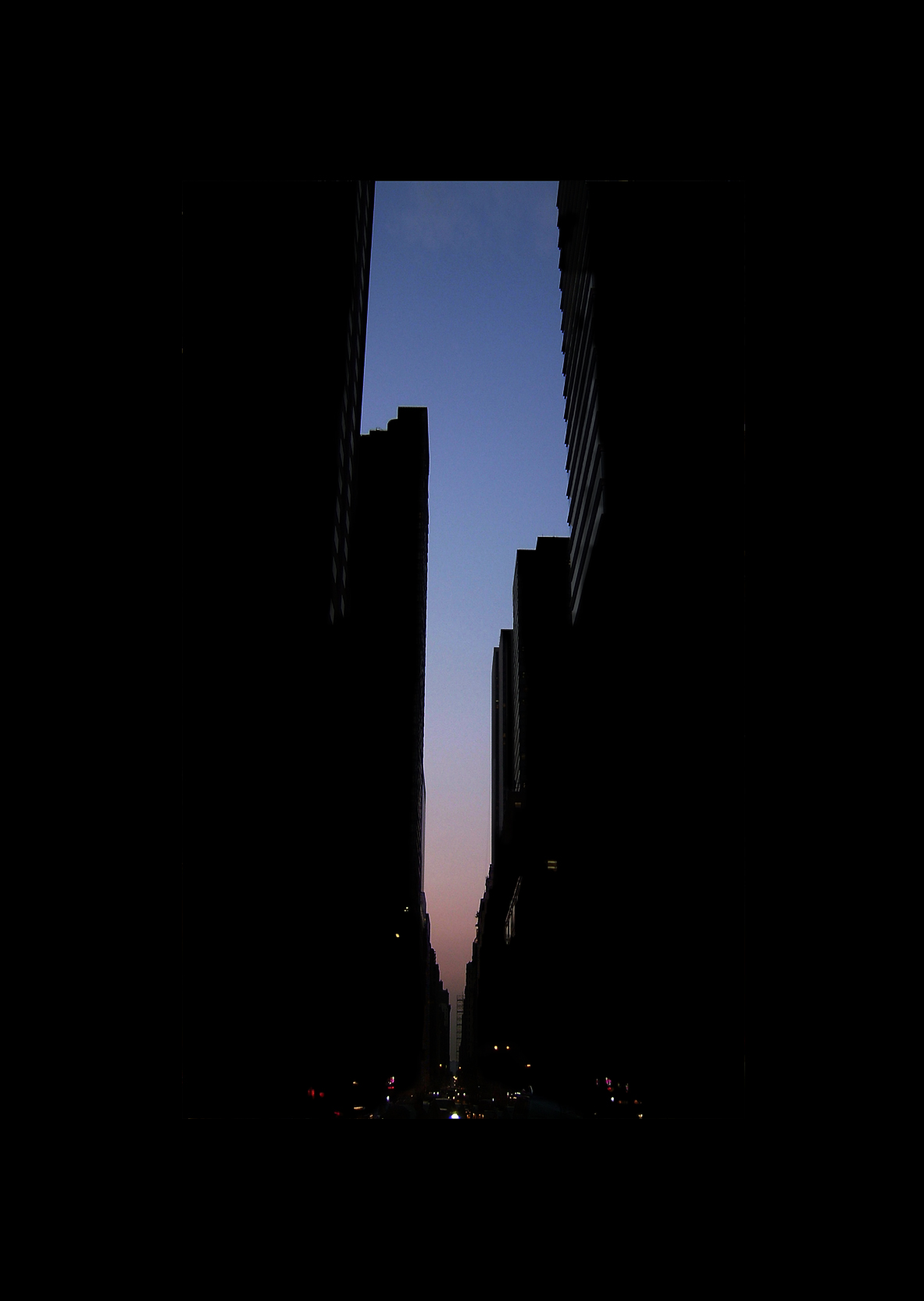 "58thStreet.  , 7 x 5"" 2004"