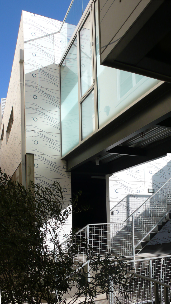 419 Ocean Front ,   Venice, CA, collaboration with artist Nancy Monk and Equinox Architecture