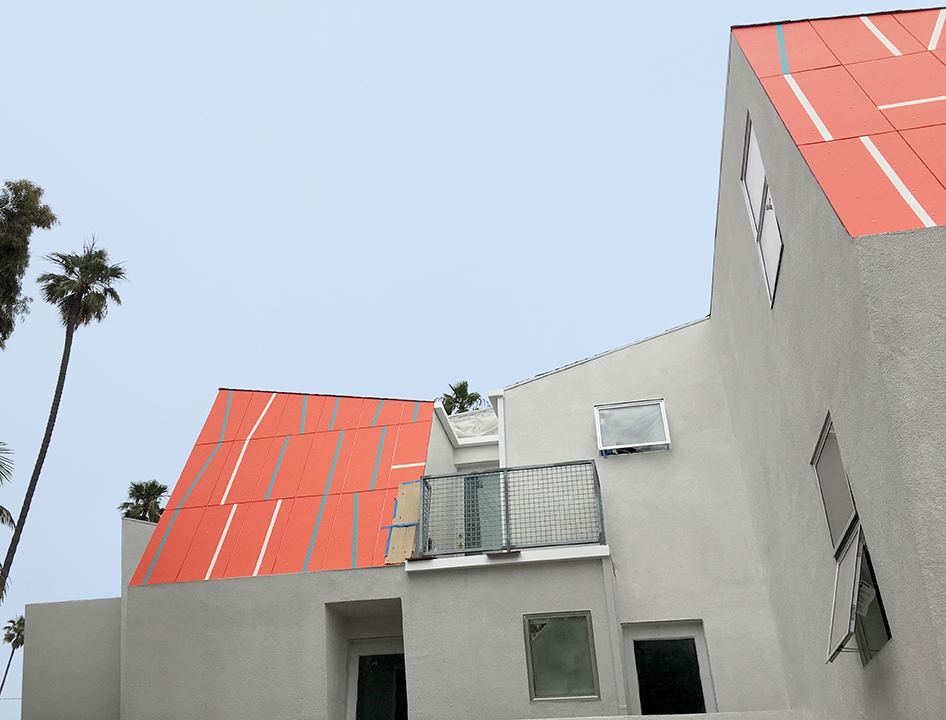 713/721 Venice Boulevard  , Venice, CA, collaboration with artist Nancy Monk and architect David Reddy of R&D Architects