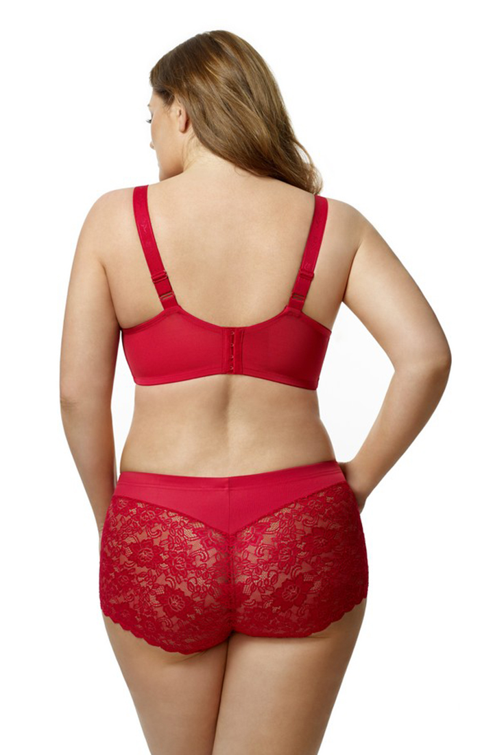 3311 | STRETCH LACE & MICROFIBER CHEEKY PANT