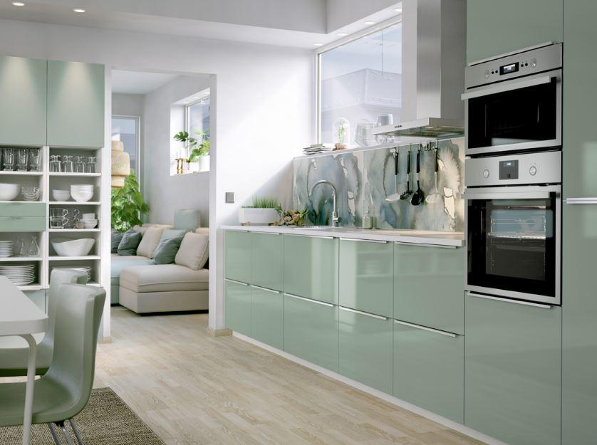 Custom design interior and kitchen