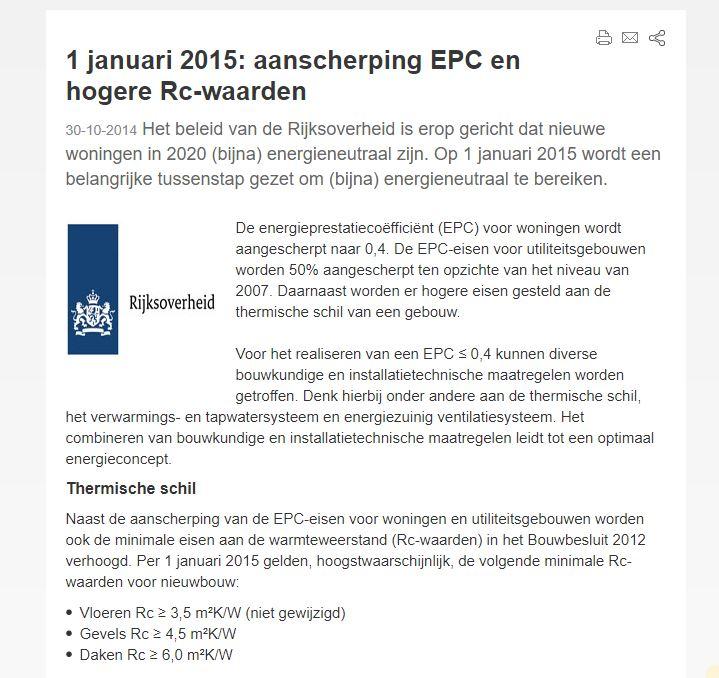 Dutch strict building regulations