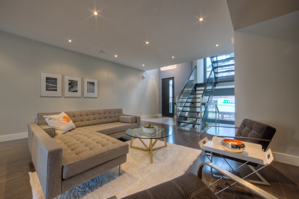 New Home Staging - Living Area