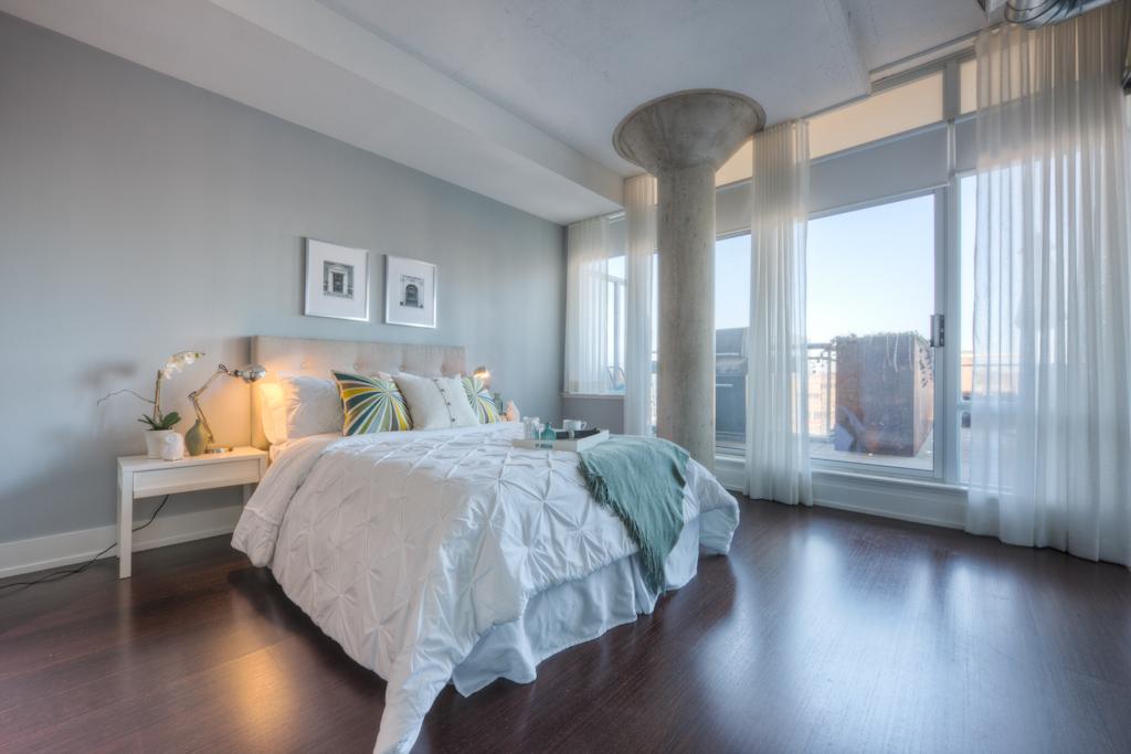 New Condo Staging - Bedroom