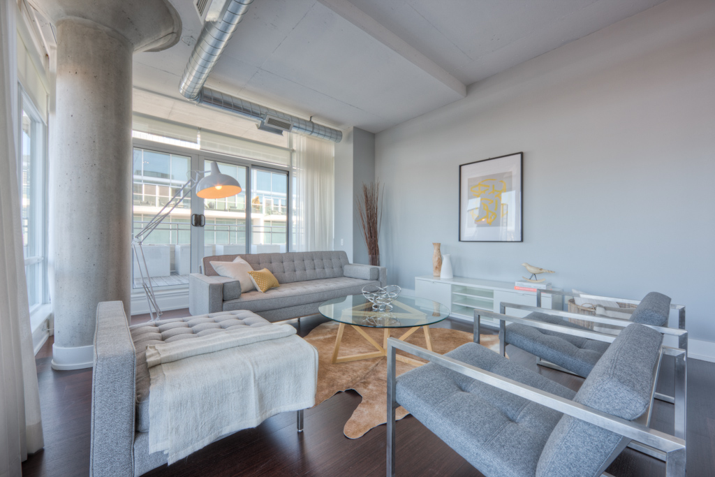 New Condo Staging - Living Room