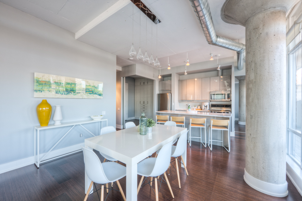 New Condo Staging - Dining Area