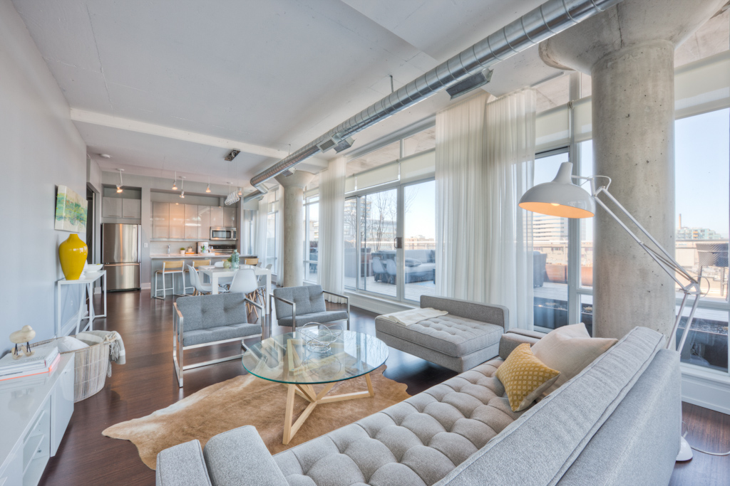 New Condo Staging - Suite View
