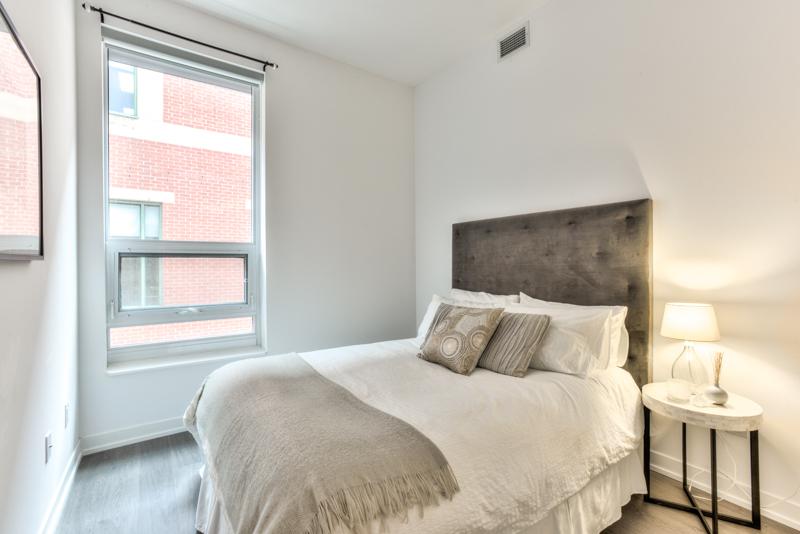 Bedroom - Condo Real Estate Staging