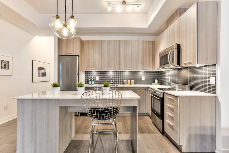 Kitchen - Condo Real Estate Staging