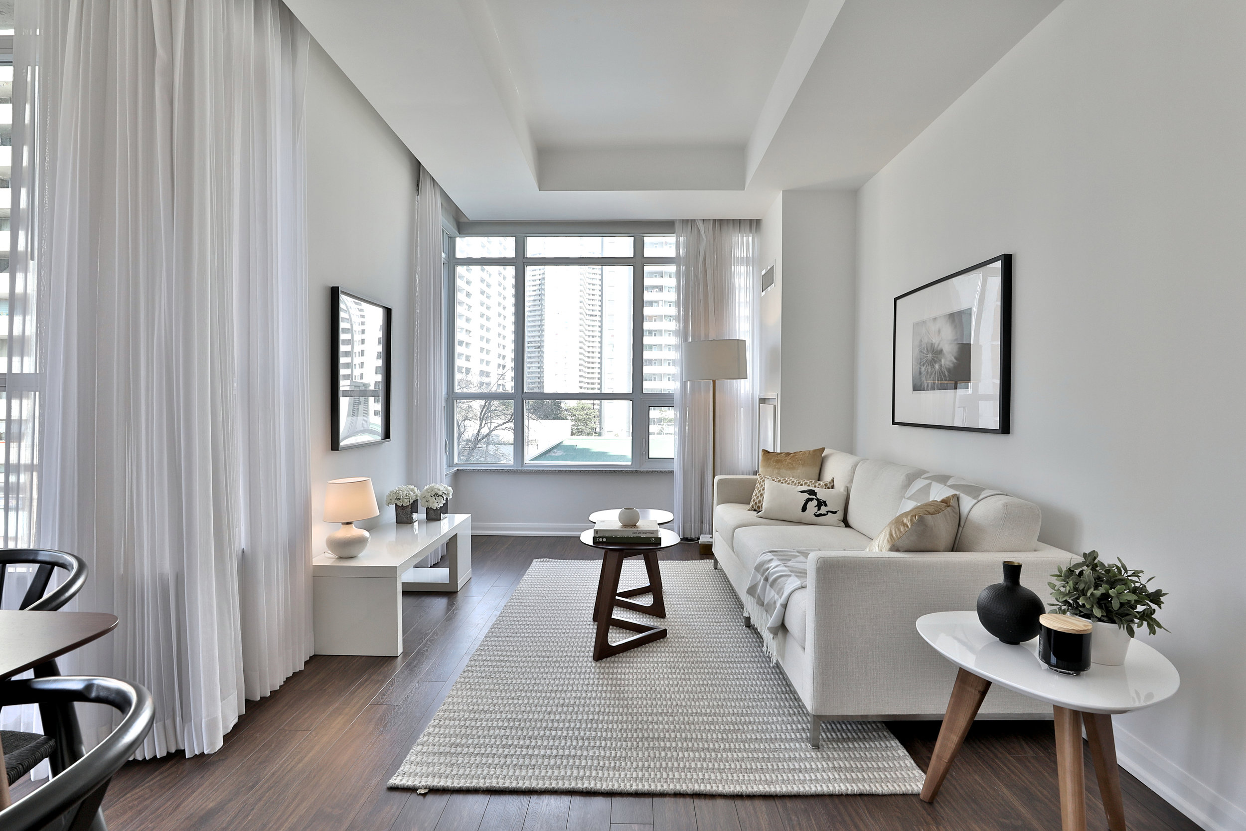 Condo Staging - Sherbourne Street