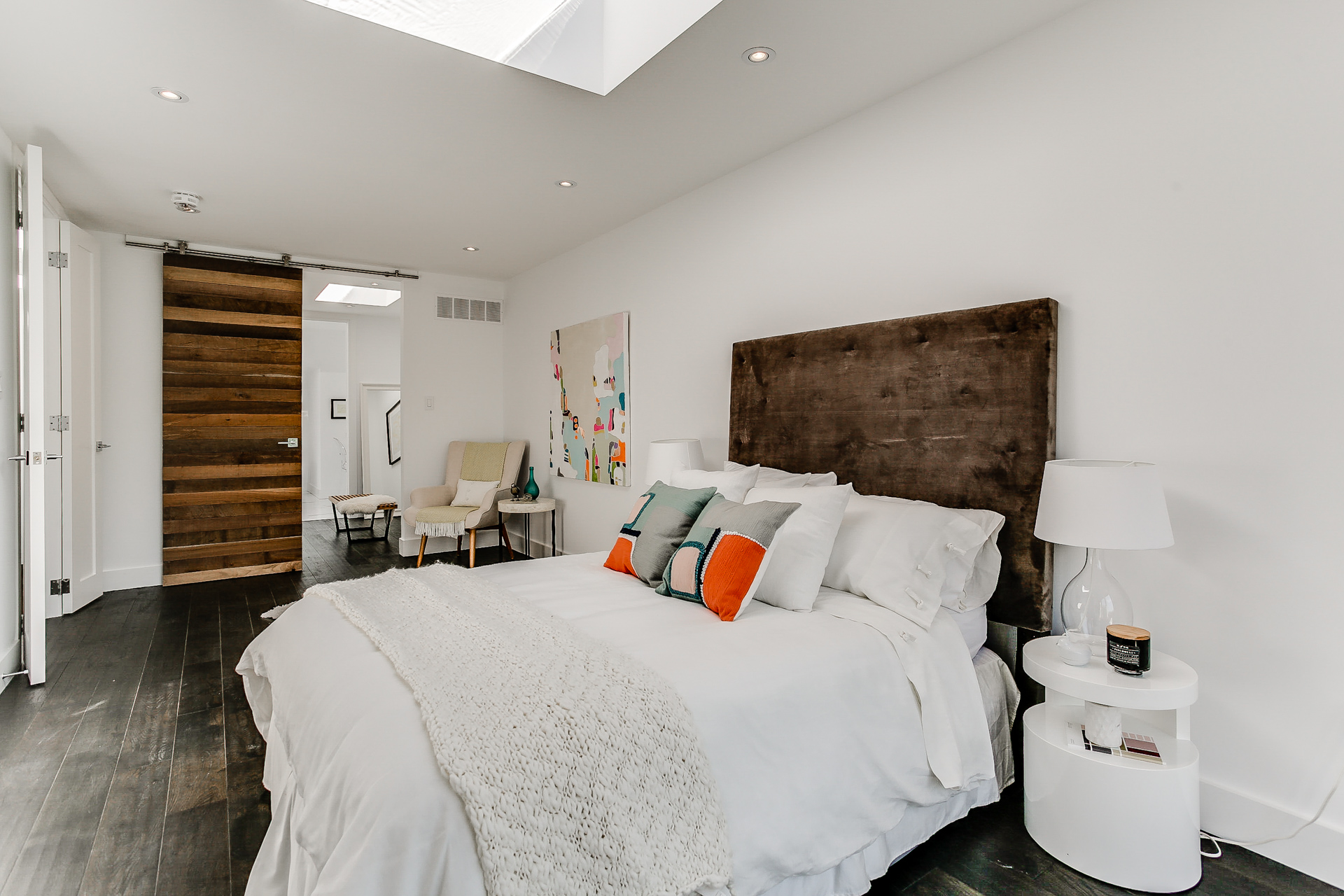 New Home Staging - Master Bedroom