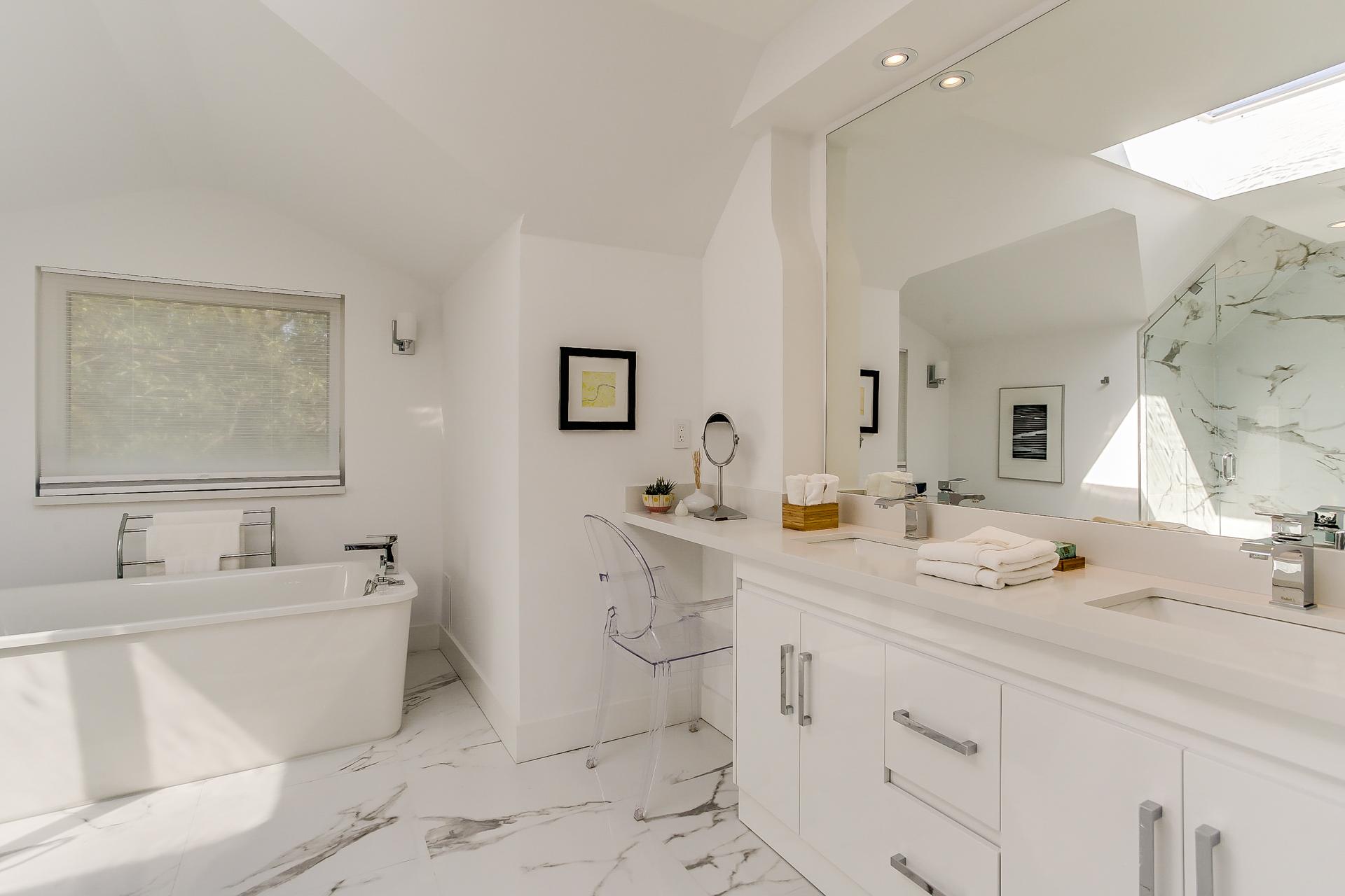 New Home Staging - Master Ensuite Washroom