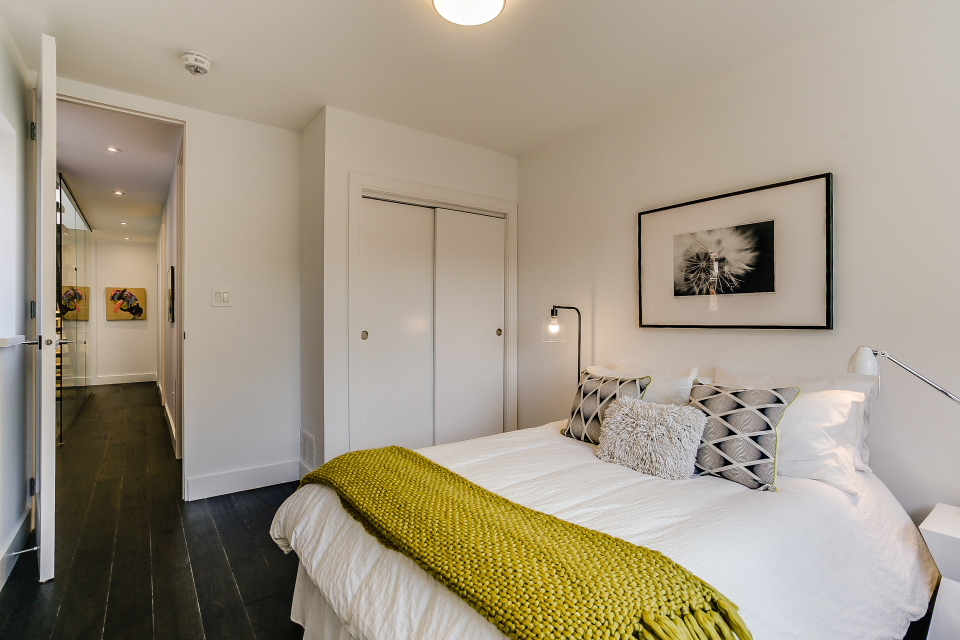 New Home Staging - Guest Room
