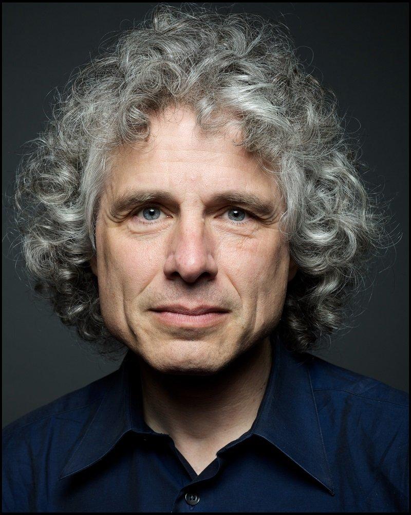 Steven Pinker:   Website  ,   Twitter  .