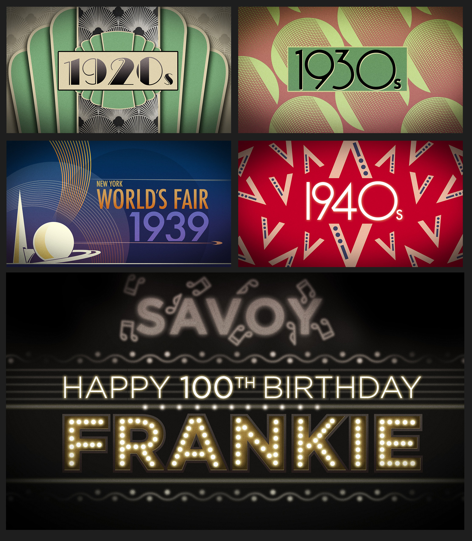 FRANKIE 100 FASHION SHOW