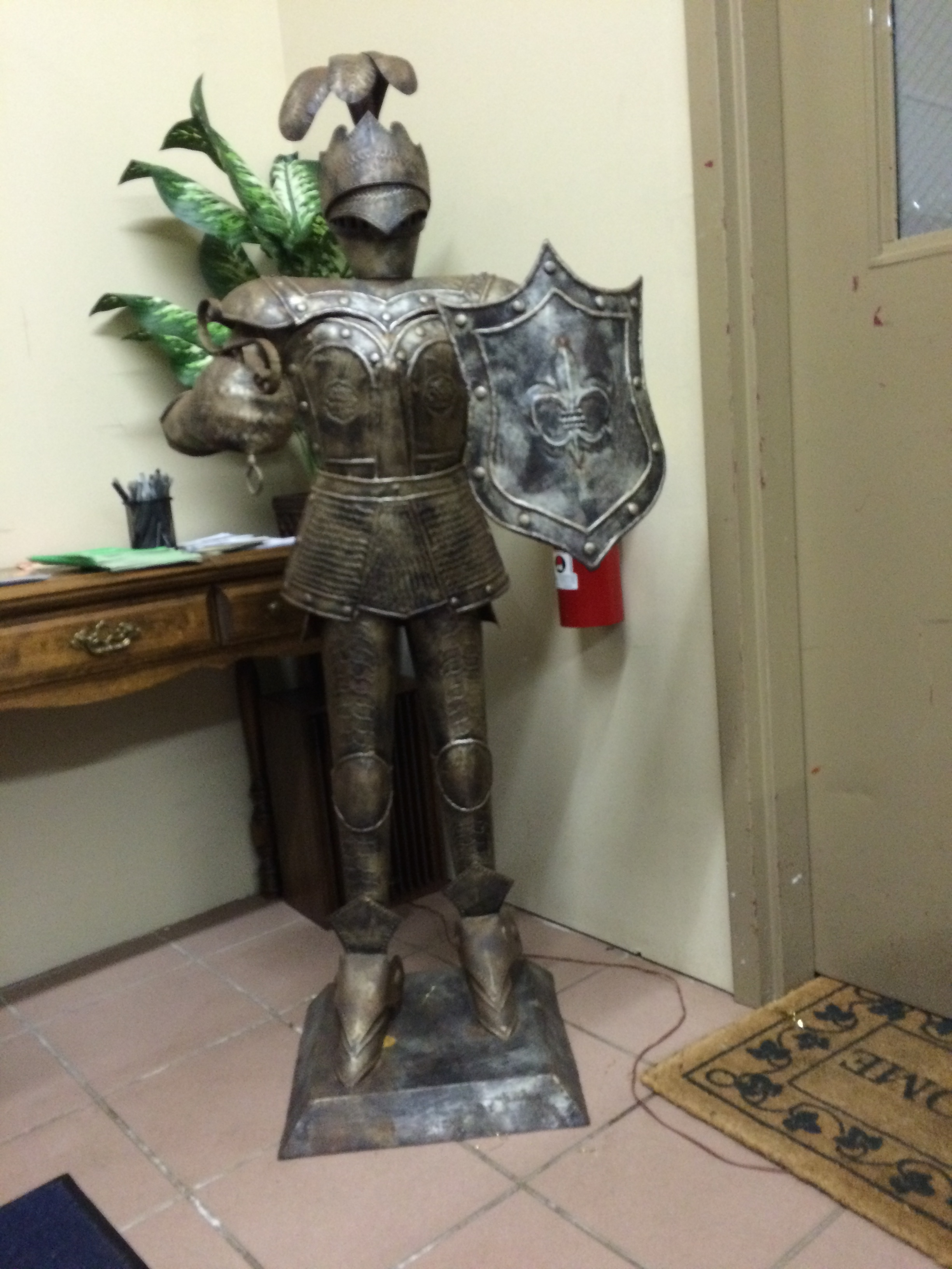 Church of the City Mascot - they do not mess around!