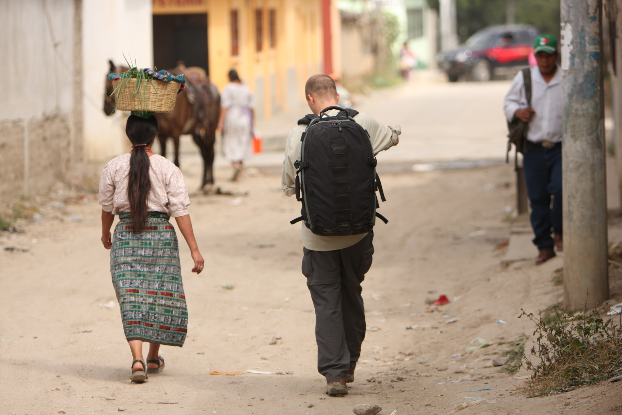 On Location in Guatemala for Heifer International, Photo by Aaron Straight