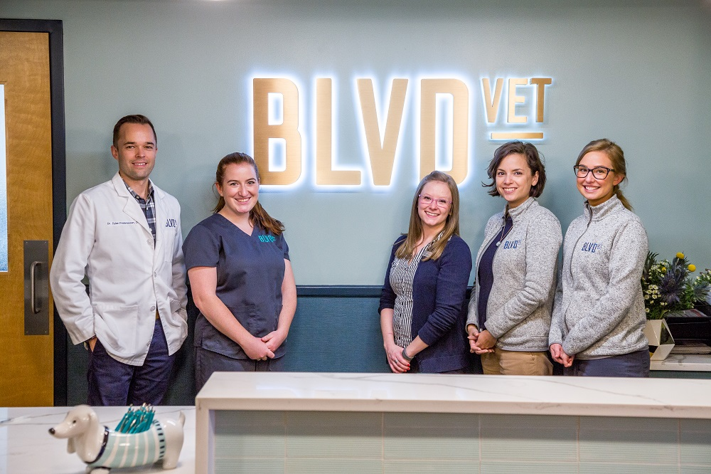 The BLVD Vet River North Team