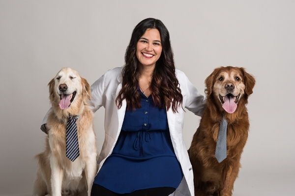 Dr. Cordes with Mac and Miller!