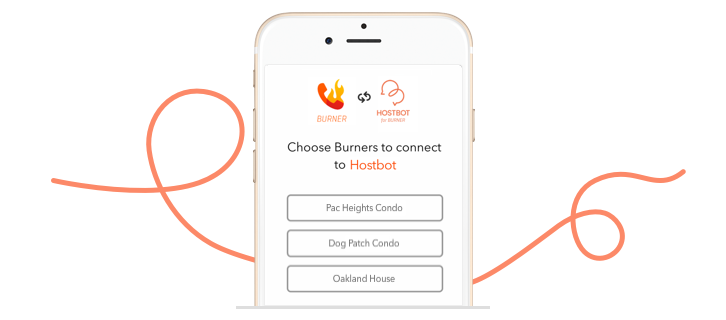 Hostbot, a Burner line for Airbnb, Homeaway, and VRBO hosts