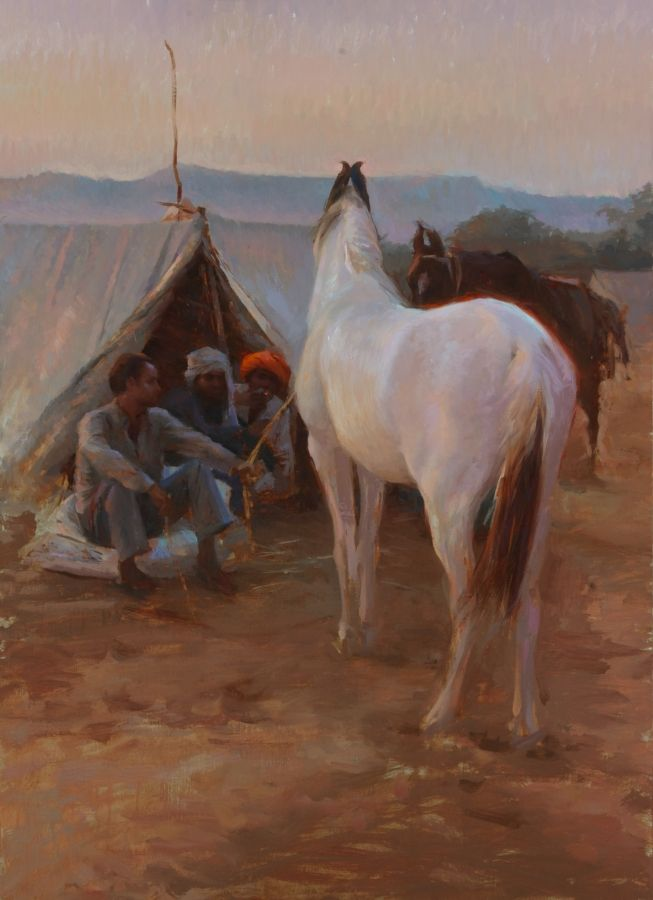 12Apr02 _Pushkar Horse Traders_ 20x30_small.jpg