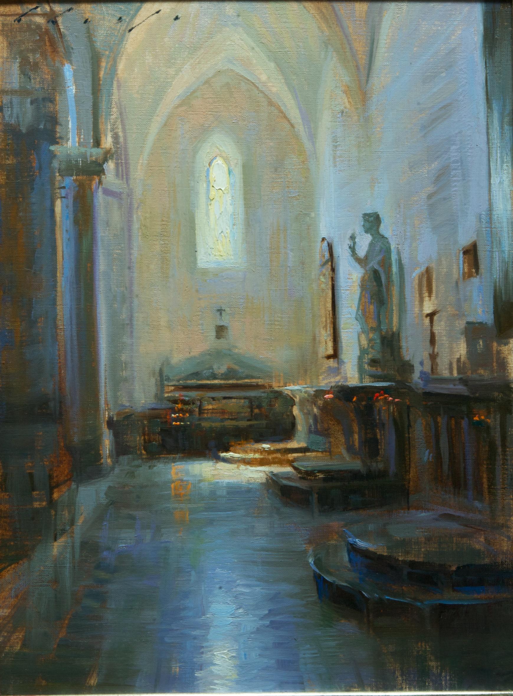 """""""Il Duomo di Taormina"""" 12 x 16 inches"""