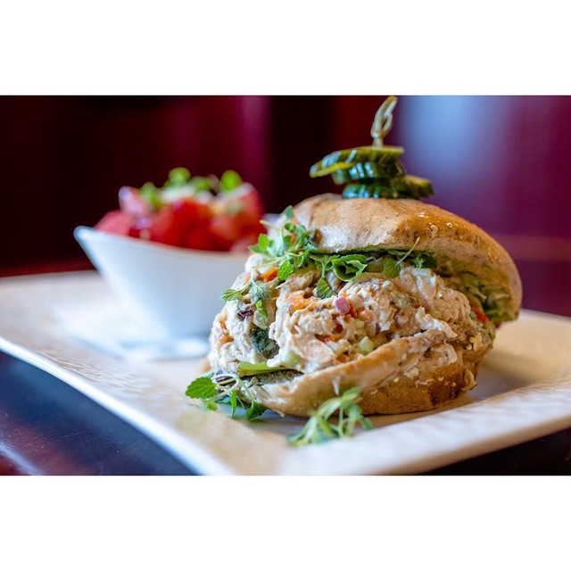 Wednesday's Special is our awesome Chicken Salad Sandwich!