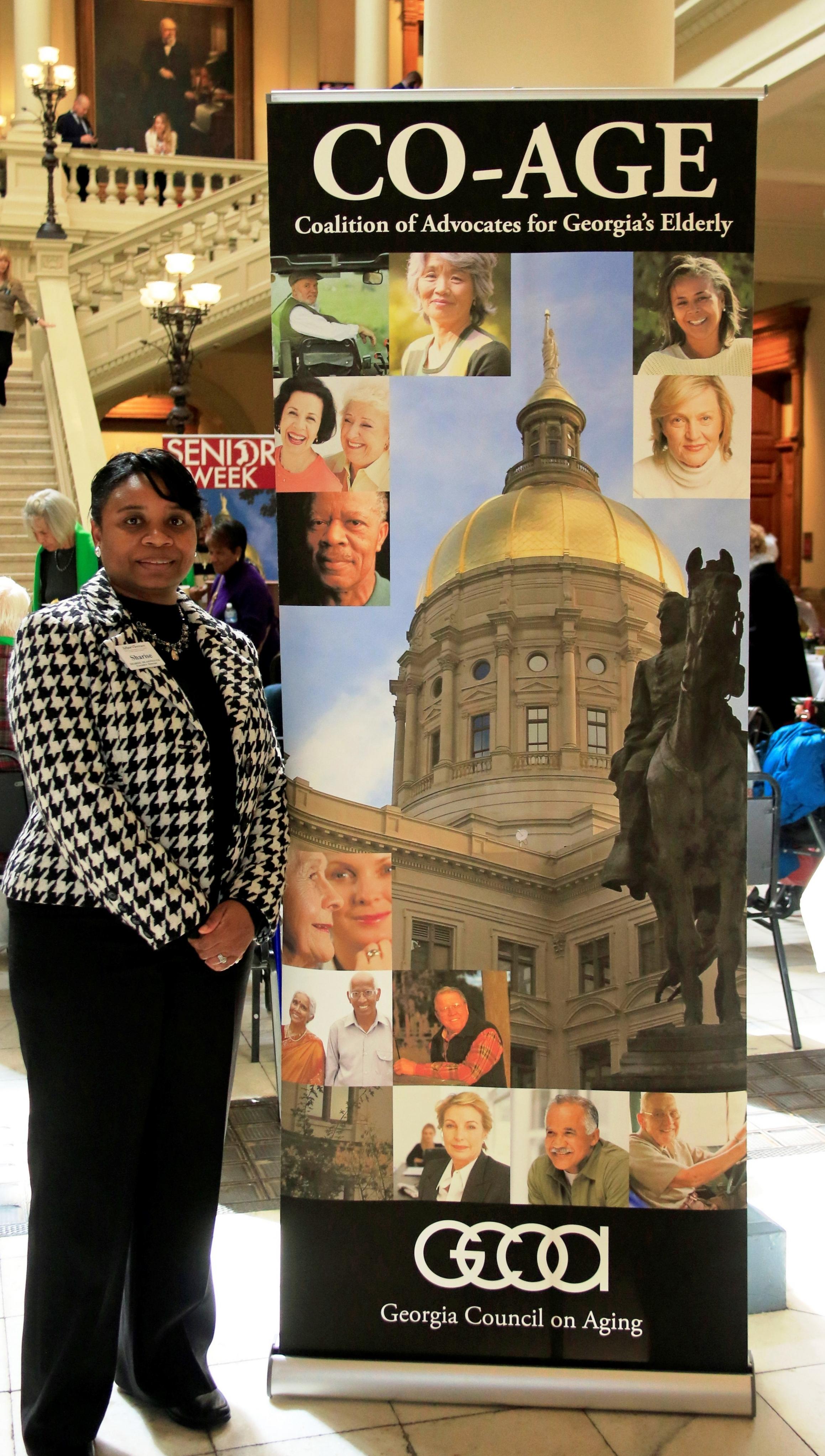 Council member Sharise Reasonover at Senior Week 2016