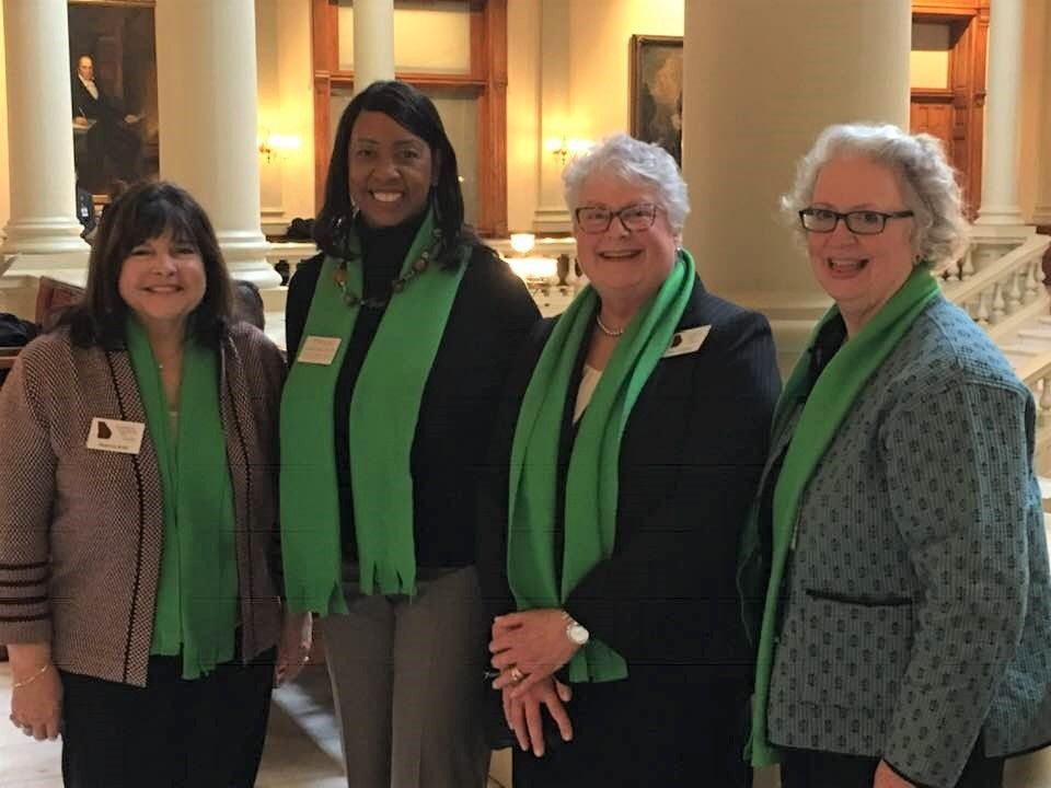 cOUNCIL mEMEBERS:  MAUREEN kELLY (legislative chair), dR. aDRIENNE mIMS, vICKI jOHNSON (cHAIR)  AND kATHY fLOYD (eXEC dIRECTOR OF gcoa)