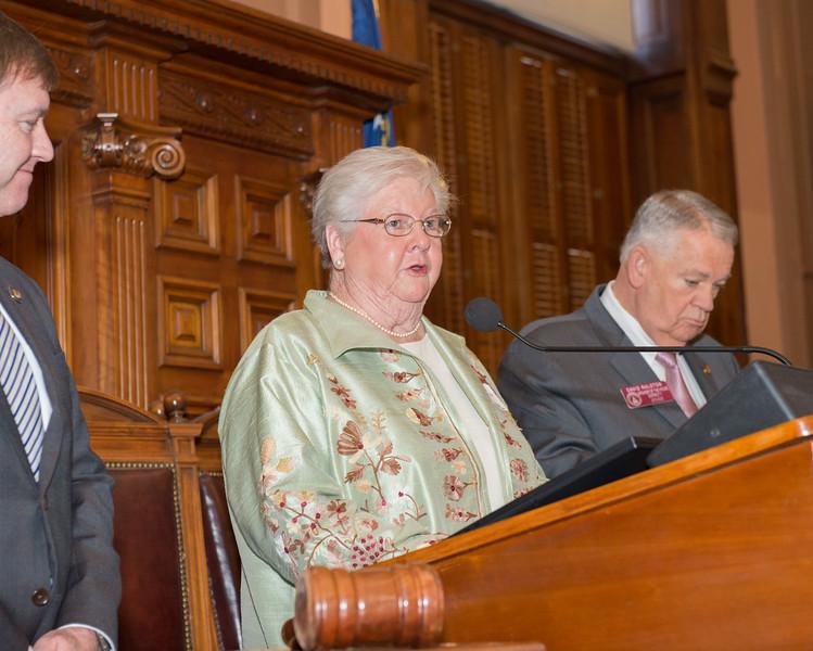 Mary Georgia in well.jpg