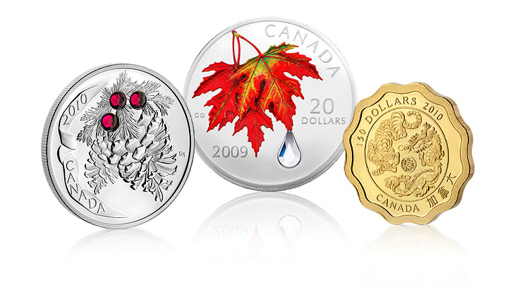 Numismatic Innovations from the Canadian Mint