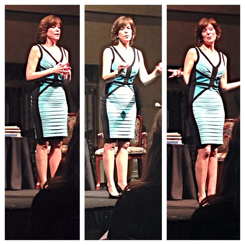 Susan captivates an audience!