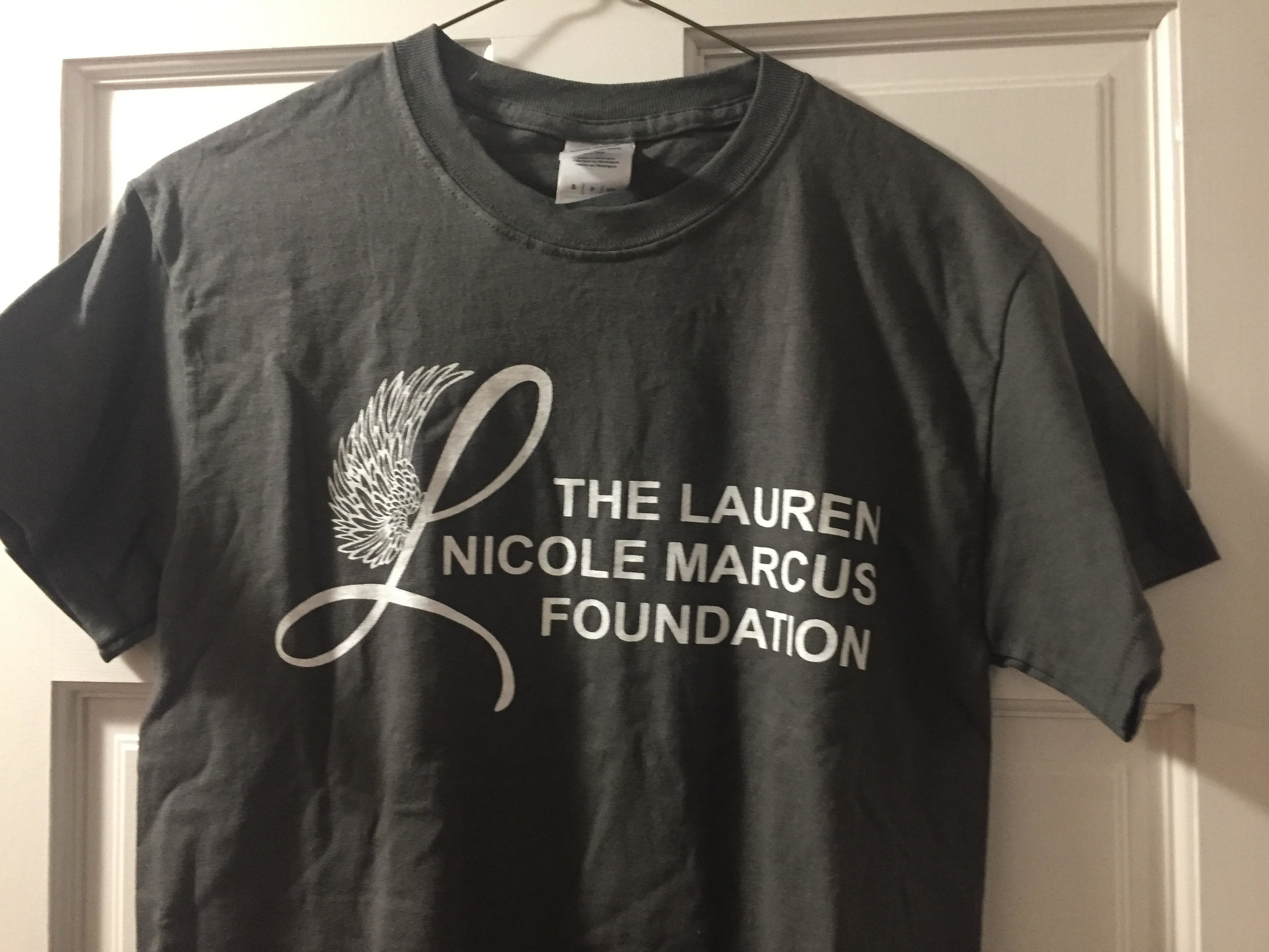 $10.00 LNM Gray T-Shirt