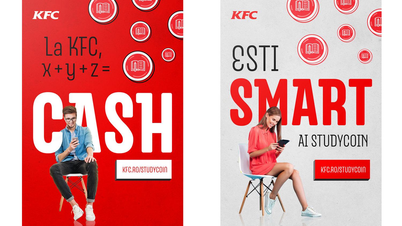 KFC - Studycoin - Roxana Nita - Creative Portfolio