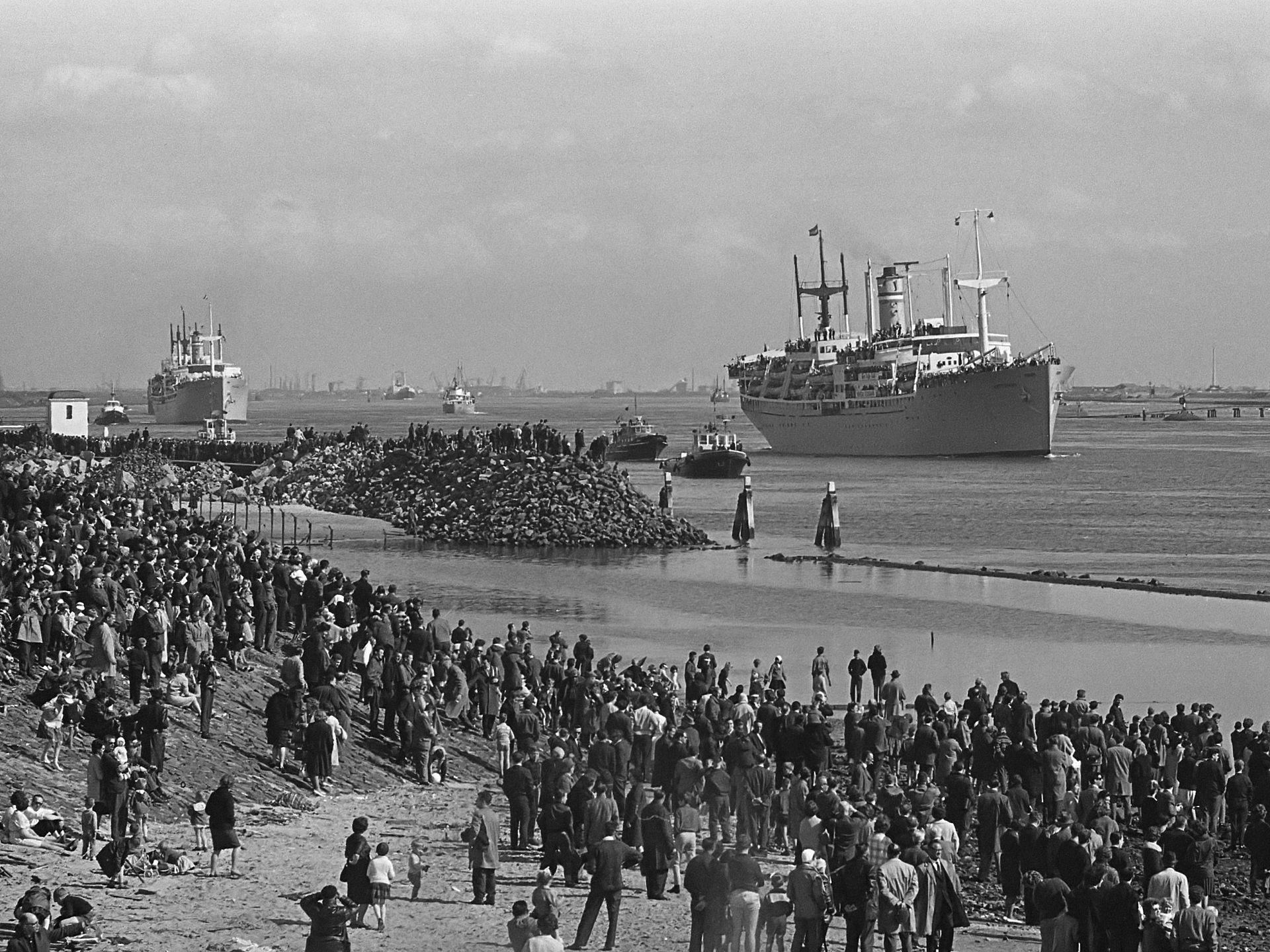 Holland-America Line ship theSS Waterman