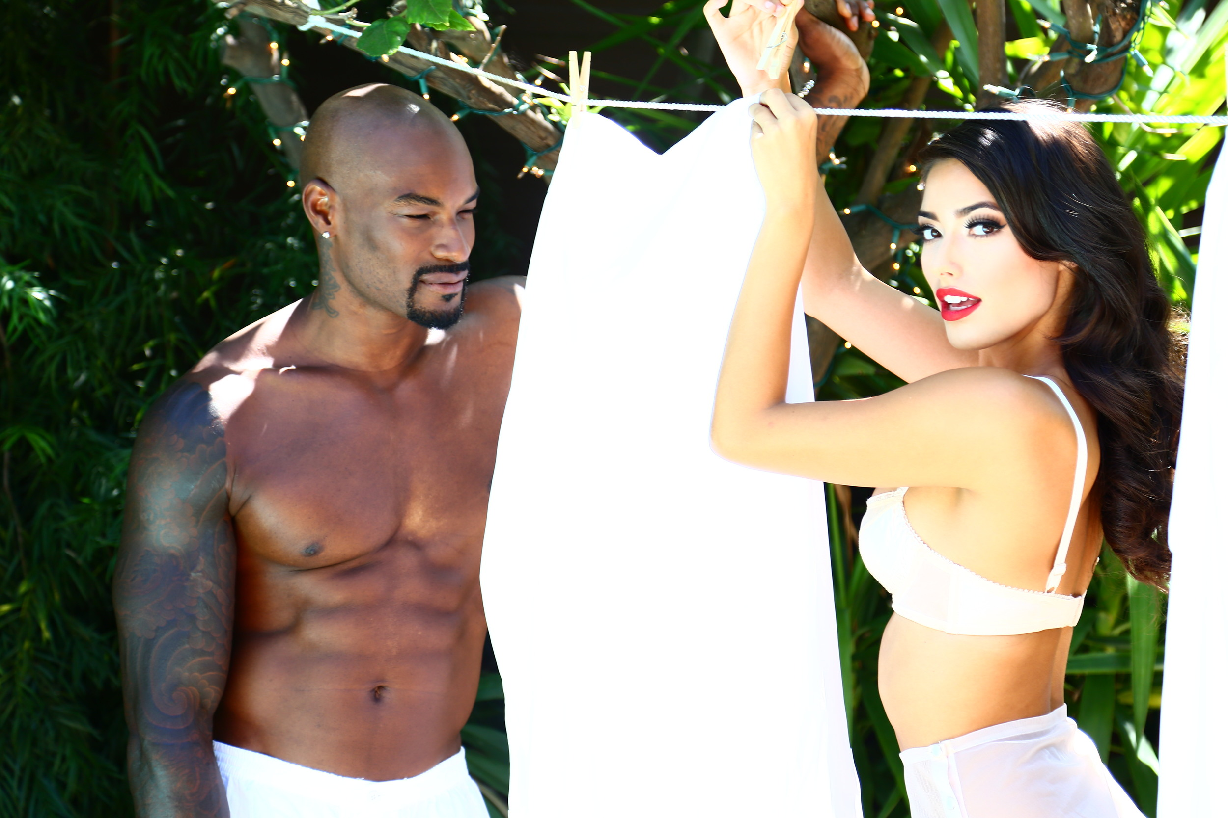 """Tyson Beckford goes Arsenic"" editorial: Arsenic Magazine"