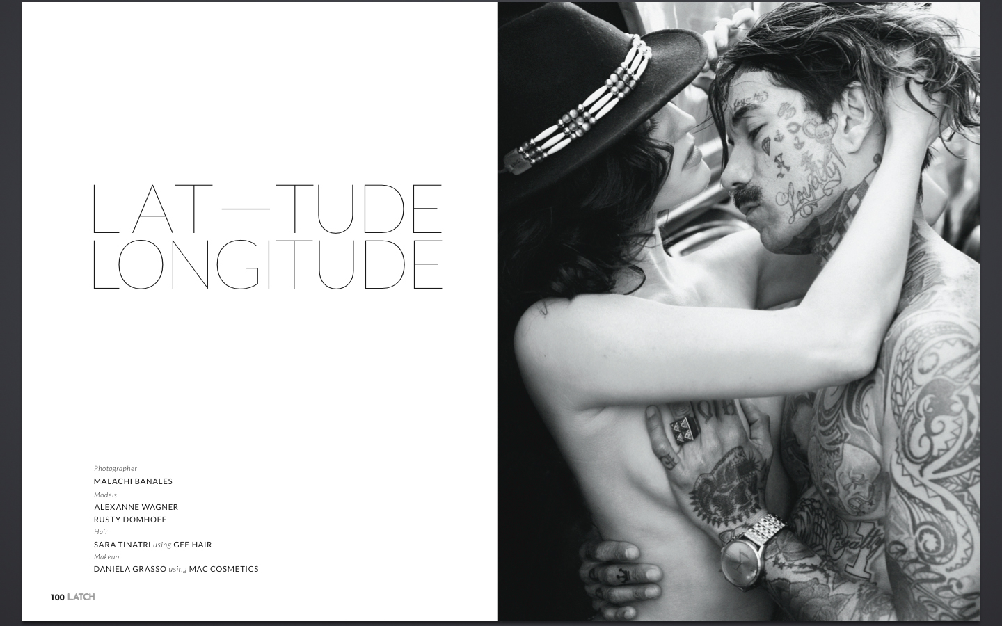 "Latch Magazine: ""Latitude Longitude"" (Issue 2)"