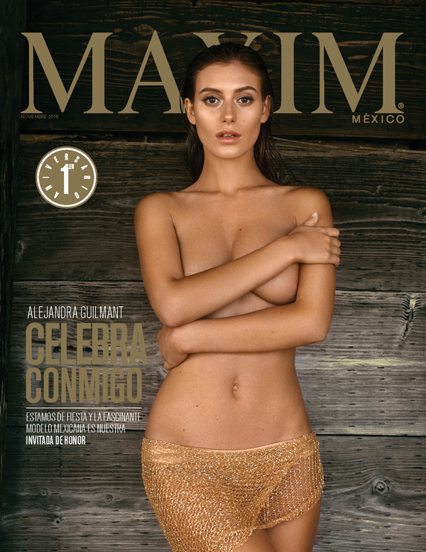 Maxim Mexico 1 Year Anniversary cover November 2015