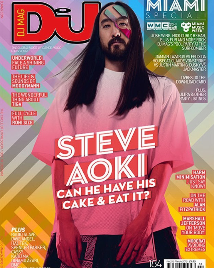 DJ MAG COVER SHOOT WITH STEVE AOKI