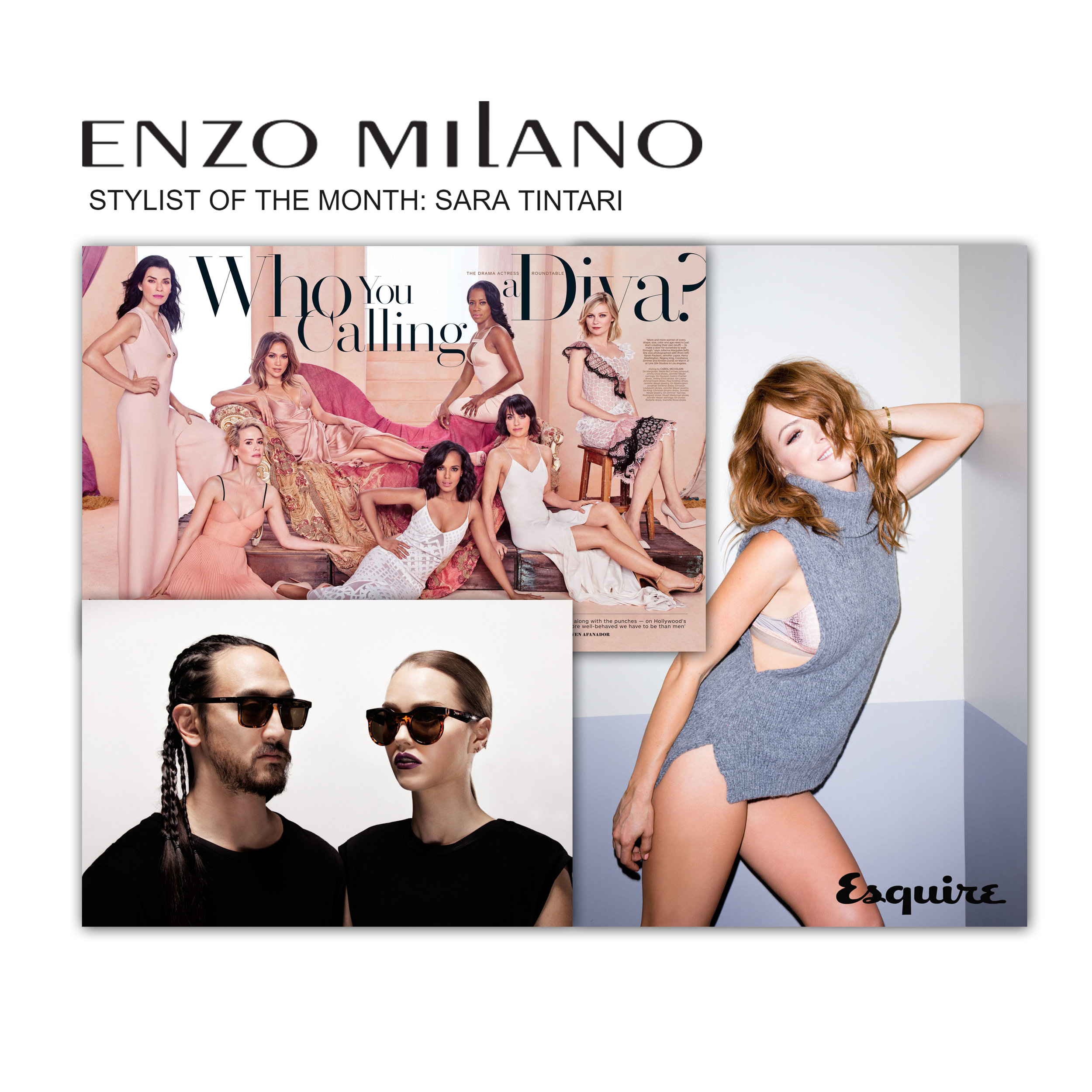 ENZO MILANO'S FEATURED STYLIST OF THE MONTH!