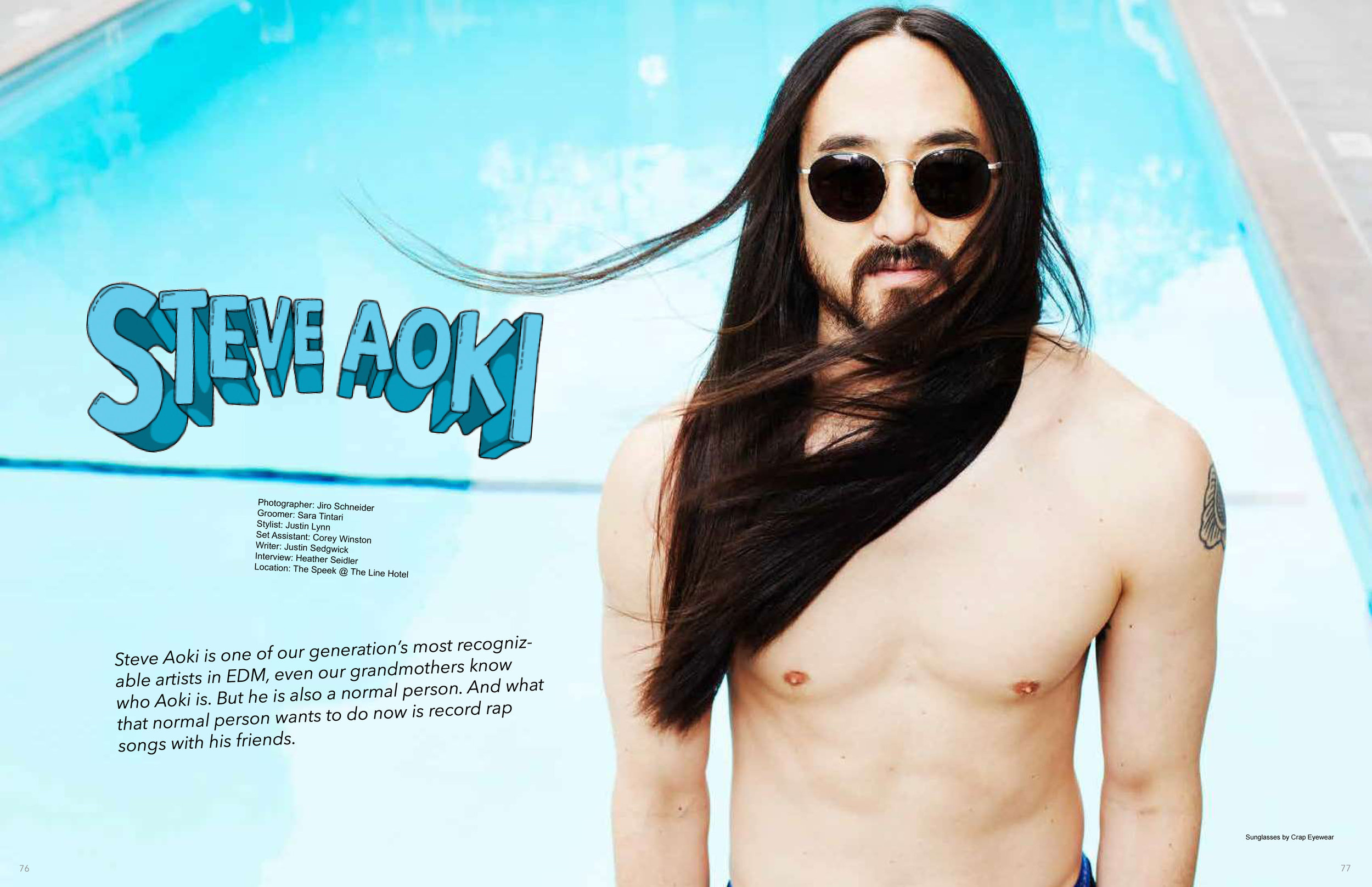 Steve Aoki x Rogue Feature