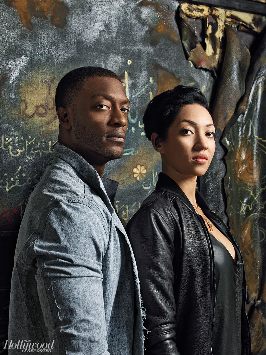 Hollywood Reporter: 'Hidden Figures' Star Aldis Hodge, Painter Harmonia Rosales to Debut Collab Works at L.A. Art Show