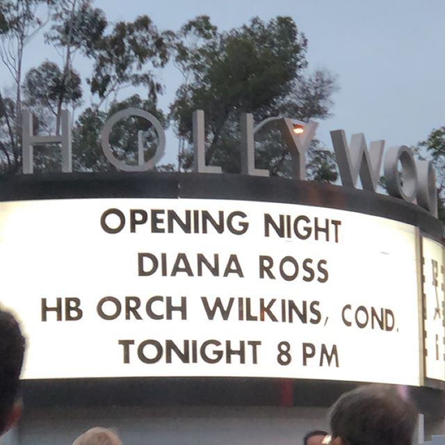 Last Saturday at the Bowl to see @dianaross And the HB Orchestra And fireworks 🎇🎇🎇🎇 From what I remember there was lots of dancing. We had a great time. So much so that I had to turn off the sound on one of the videos🙃 #dianaross #disco #summernights