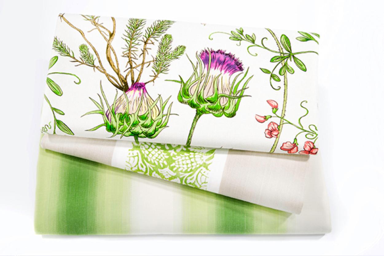 Spring Grass:Afresh and vigorous green with crisp edge
