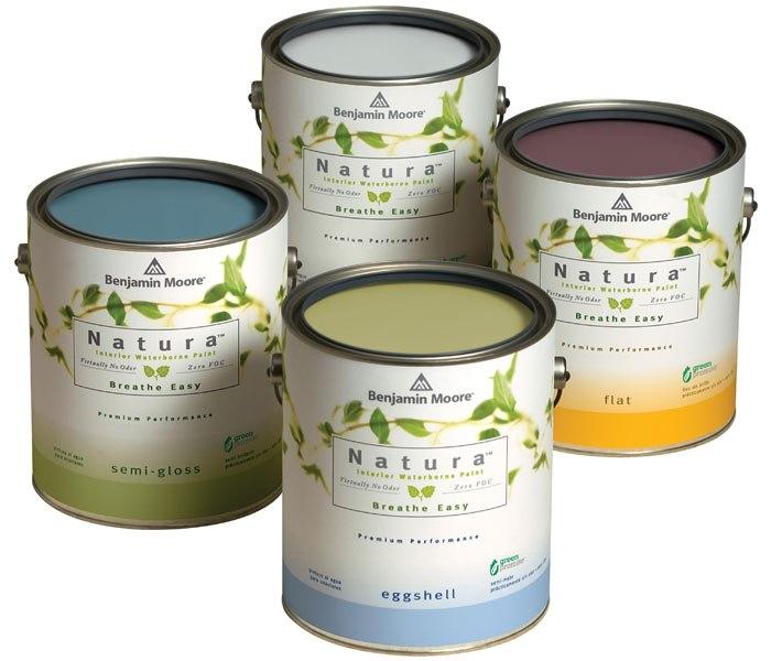 Natura Zero VOC and Zero Emissions Paint