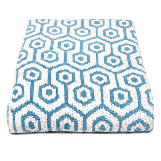Eco Geo Throw Blanket by In2Green